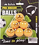 Buffalo. nl Pro Set/6Pelotas–Mesa de futbolín, Unisex Adulto, 19013_8717931935531, Naranja, Medium