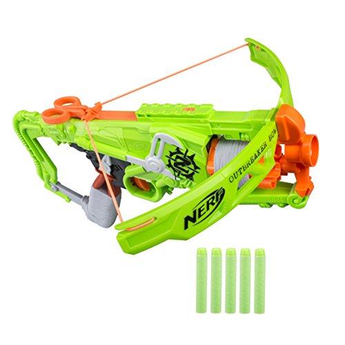 Nerf B9093EU7 Hasbro Zombie Strike Outbreaker Spielzeug-Armbrust