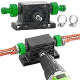 Royal Gardineer Bohrmaschinenpumpe: Pumpenaufsatz für Bohrmaschine zum Um- und Auspumpen von Wasser (Pumpe für Akkuschrauber)