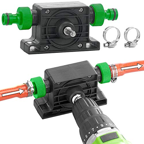 Royal Gardineer Bohrmaschinenpumpe: Pumpenaufsatz für Bohrmaschine zum Um- und Auspumpen von Wasser (Wasserpumpe)