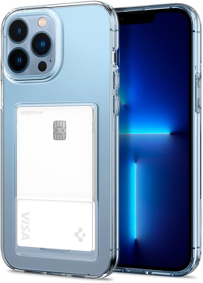 Spigen Crystal Slot Designed for iPhone 13 Pro Case (2021) - Crystal Clear