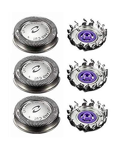 NEW Set Bombing free shipping of 3 Shaving Heads Time sale HQ56 Compatible with Norelco Phillips