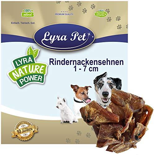 Lyra Pet® 10 kg Rindernackensehnen 1-7 cm 10000 g Kaustreifen Hund Kauartikel Rind Hundefutter