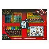 Undercover- Super Malkoffer Star Wars - Caja de Pinturas (Cera, rotuladores, Acuarelas, lápices de Colores, Plantillas y Muchos Accesorios, más de 100 Piezas) (SWDD4101)