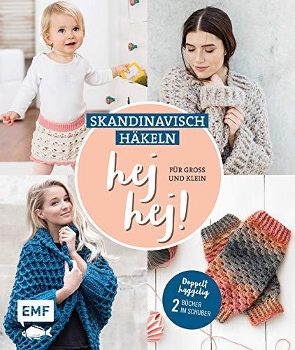 hej hej! Skandinavisch häkeln für Groß und Klein: Doppelt hyggelig: 2 Bücher im...