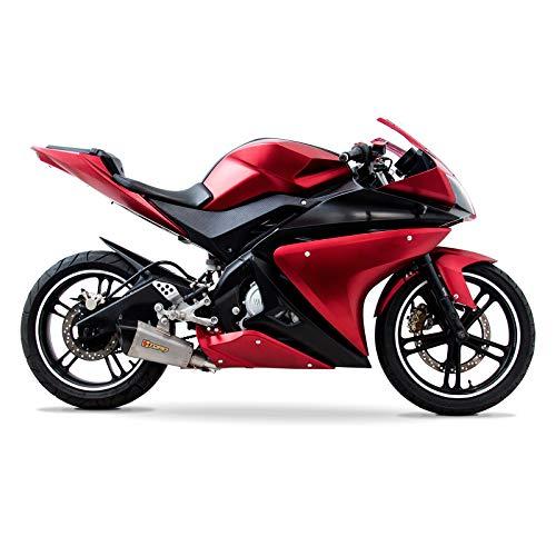 Juego de carenado completo de Yamaha YZF-R125 08-13 (20 piezas) rojo/negro