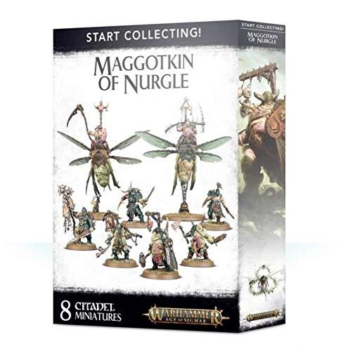 Game Workshop Warhammer Age of Sigmar: comece a colecionar! Maggotkin of Nurgle