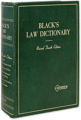 Black's Law Dictionary: Deluxe 5th Edition: Definitions of the Terms and Phrases of American and English Jurisprudence, Ancient and Modern
