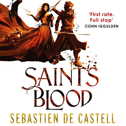 Saint's Blood audiobook cover art