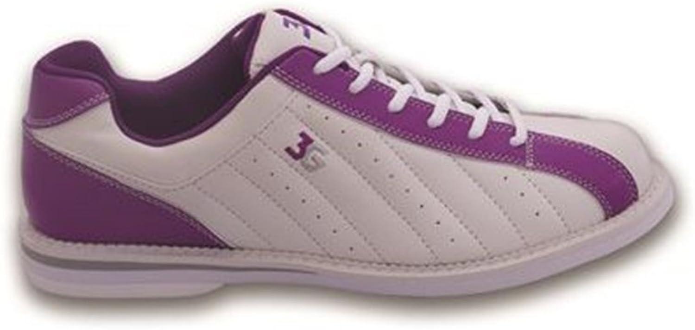 3G Ladies Kicks Bowling shoes- White Purple