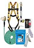 3200-50 Super Anchor Safety MAX-V Fall Protection Kit, 50'