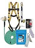 3200-50 Super Anchor Safety MAX-V Fall Protection Kit, 50'...