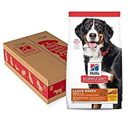 Hill's Science Diet Large Breed Dry Dog Food- Five High Calorie Dog Food