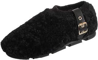 ZOSYNS Dames outdoorschoenen winter katoenen schoenen mode casual warm gevoerd comfortabel duurzaam antislip winterschoene...