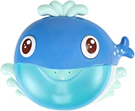 Iusun Whale Bubble Machine Baby Tub Bath Toys Automatic Bubble Maker Blower Play Bathing Dool for Kids Children's Family- Ship From USA (blue)