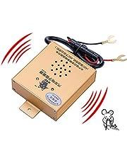 Mr. Ho Ultrasónico Control de roedores Ahuyentador, funda para funciona con pilas repelente de martas coche
