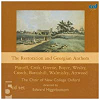 The Restoration & Georgian Anthem by Oxford The Choir of New College (2009-05-01)