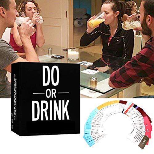 Newooh Do or Drink Partyspiel Party Kartenspiel Trinken für College, Camping Partys, Lustiges Spiel für Männer Frauen