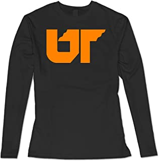 Women's University of Tennessee System Casual Long Sleeve Shirt Black