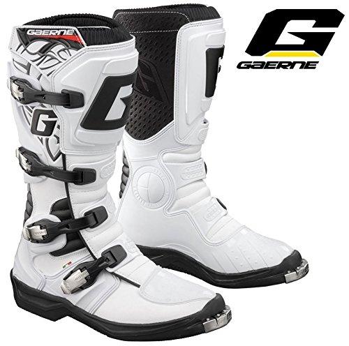 2015Gaerne GX Evo Motocross MX Enduro Stiefel weiß Euro 41(UK 6)