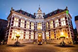 Hall Of Utrecht University In Dom Square Netherlands Europe