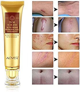 Scar Removal Cream - (2 Pack) TCM Scar and Acne Marks Removal Gel Ointment, Skin Repair Scars Burns Cuts Pregnancy Stretch Marks Acne Spots Skin Redness Treatment Cream for Face and Body