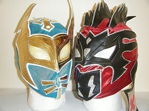 The Nxt Lucha Dragons - Sin Cara & Kalisto Kinder Wrestling Masken