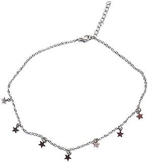 Boho Chocker Chain Tassel Star Choker Necklace for Women Necklaces & Pendants Collar