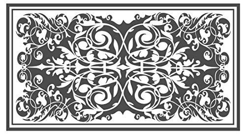 dekodino Wandtattoo Orient Teppich Wohnzimmer Wandaufkleber Wandsticker