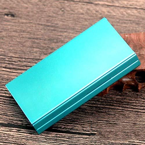 TH26 Zigaretten-Etui for 19-20 Zigarettenschachtel - 106 mm - Lang Größe ( Color : A , Size : 106x60x16mm )