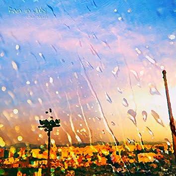Rain in July