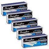 Swingline Staples, S.F. 4, Premium, 1/4' Length, 210/Strip, 5000/Box, 5 Pack (35481)