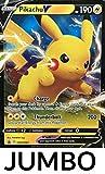 Pokémon TCG Pikachu V SWSH061 Jumbo Shining Fate Black Star Promo NM/M Ultra Rare