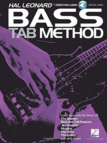Bass Tab Method: Noten, CD, Lehrmaterial für Bass-Gitarre (Hal Leonard Bass Tab Method, Band 1)