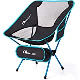 MOON LENCE Ultralight Folding Camping Chairs Beach Chairs with Carry Bag