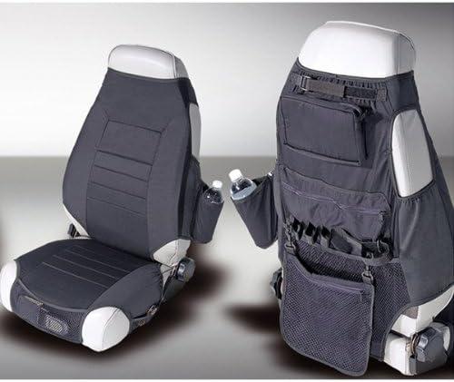 Rugged Ridge 13235.01 Seat Protector Kit, Fabric, Black; 76-06 Jeep CJ/Wrangler YJ/TJ