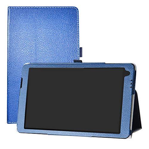 LFDZ TrekStor PrimeTab P10 Hülle, Schutzhülle mit Hochwertiges PU Leder Tasche Case für 10.1