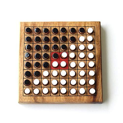 木製リバーシ(オセロ)[tom4284]