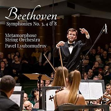 Beethoven - Symphonies No. 3, 4 & 8