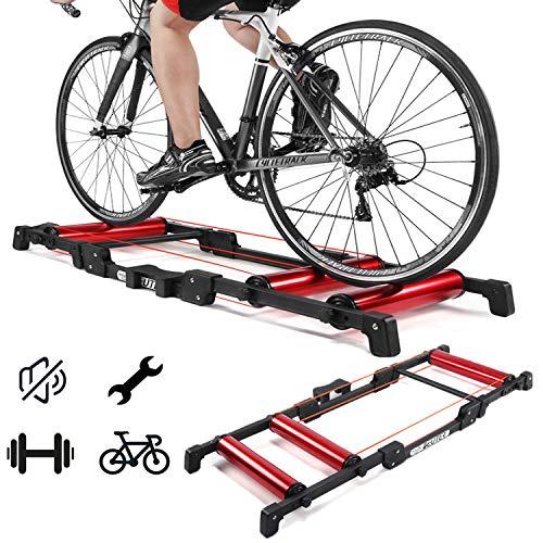 Bicycle roller rijden platform, verstelbare fiets opleiding coach station, indoor fitness fitnessapparatuur rijden benodigdheden