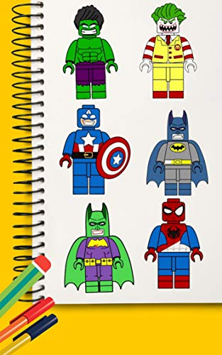 How to Draw LEGO - Kids Learn Drawing - Art Colors for Children | Drawings Step...