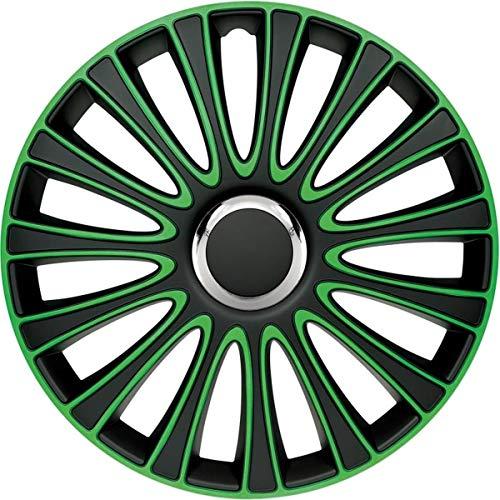 Radzierblende Le Mans grün/schwarz 16 Zoll 4er Set