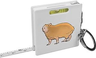 'Capybara' Keyring Tape Measure / Spirit Level Tool (KM00020994)