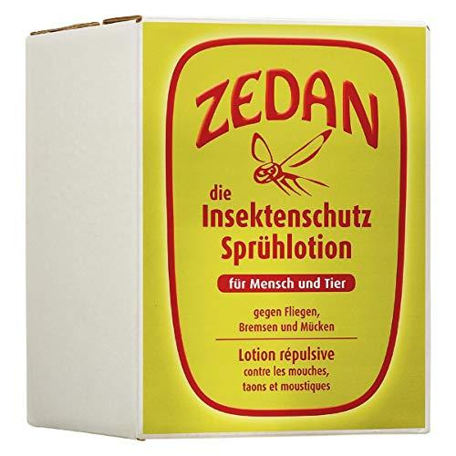 Zedan Insektenschutz Insektenspray für Mensch+Tier Big Box Nachfüllpack 2000 ml