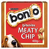 Enriched with vitamins (A, D, E) and minerals. Small in size yet big in flavour! Carefully selected ingredients inside our BONIO bitesize biscuits helps support your dog's overall health. A complementary pet food that your dog will love. With fibre t...