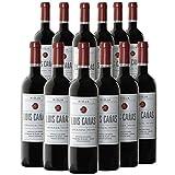 Vino Tinto Crianza - Vino Tinto D.O. Rioja - Elaborado con 95% Tempranillo y 5% Garnacha (Luis Cañas Crianza, Caja 12 Botellas)