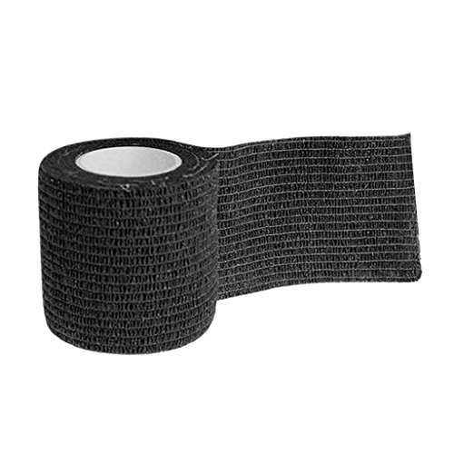SM SunniMix Selbsthaftende Bandagen Haftbandage Verband Klebeverband - 5x5x5cm - Schwarz