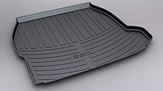 Wbbnb Rubber Trunk Mats Tonneau for Volvo S80L 2011-2019 (No Fridge), Car Waterproof Pad Scratch-Resistant Dustproof Trunk...