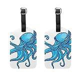 Octopus - Etiquetas de equipaje para hombre y mujer, diseño de barcos de crucero