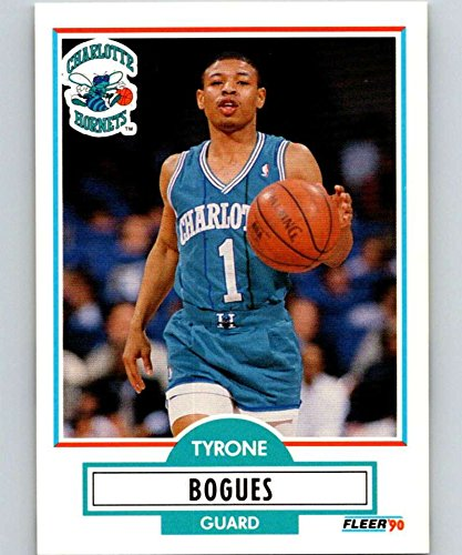 Basketball NBA 1990-91 Fleer #16 Muggsy Bogues #16 NM Hornets